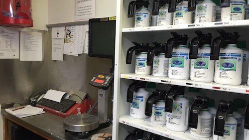 Envirobase Paint Station