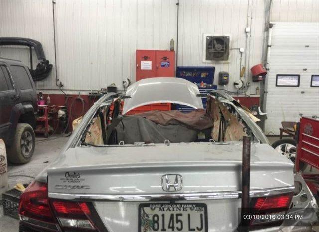 Honda during repairs