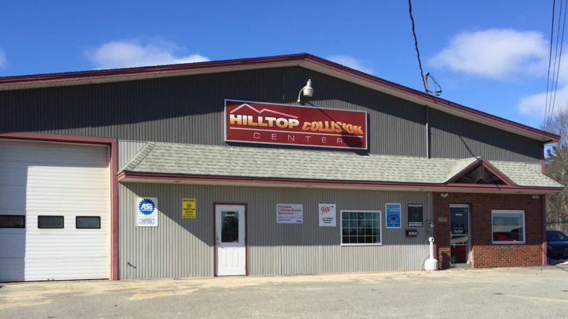 Hilltop Collision Center Shop Front
